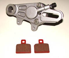 AJP Brake Caliper and Pads